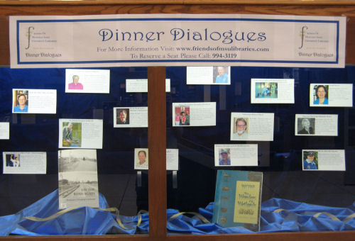 Dinner Dialogues Display