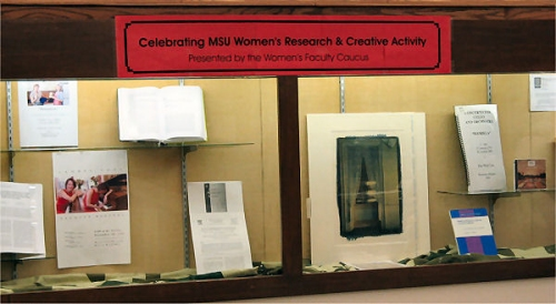 Celebrating MSU Women's Research & Creative Activity