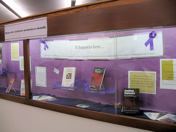 Domestic Violence Display