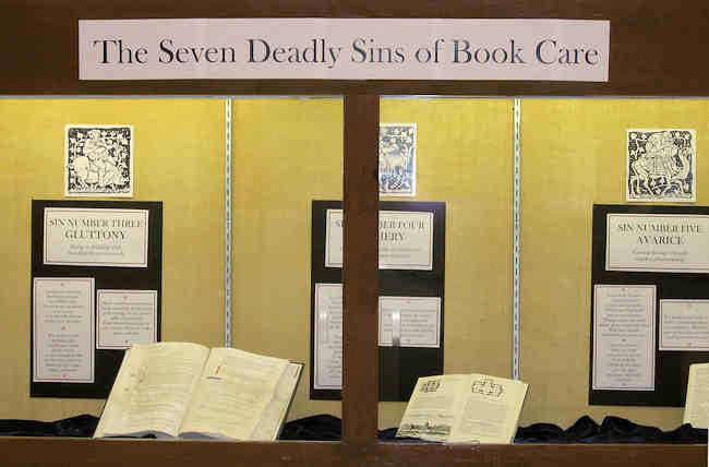 Seven Deadly Sins of Book Care