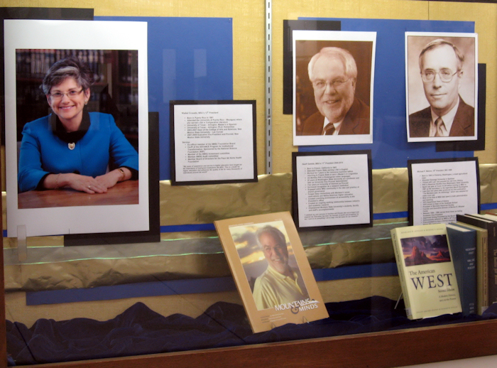 MSU Presidents' Display