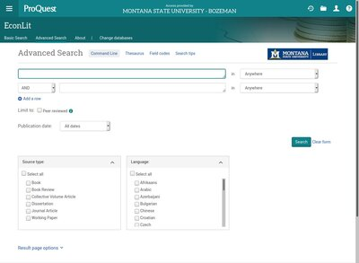 database economics papers research Economics resources: article databases  the primary database for economics literature  in full text, as well as policy research working papers.