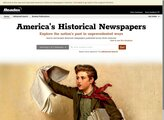 Early American Newspapers, Series 1 & 2 screenshot