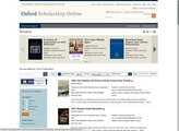 Oxford Scholarship Online Ebooks screenshot