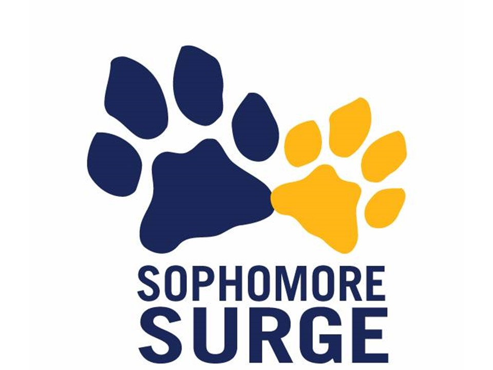 Logo for Sophomore Surge Program
