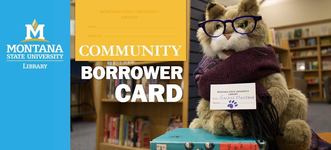 MSU Library Borrower Card