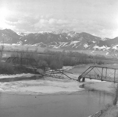 Parson's Bridge, Waterloo, MT, 1960