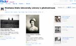 Montana State University (MSU) Library's Flikr Digital collection