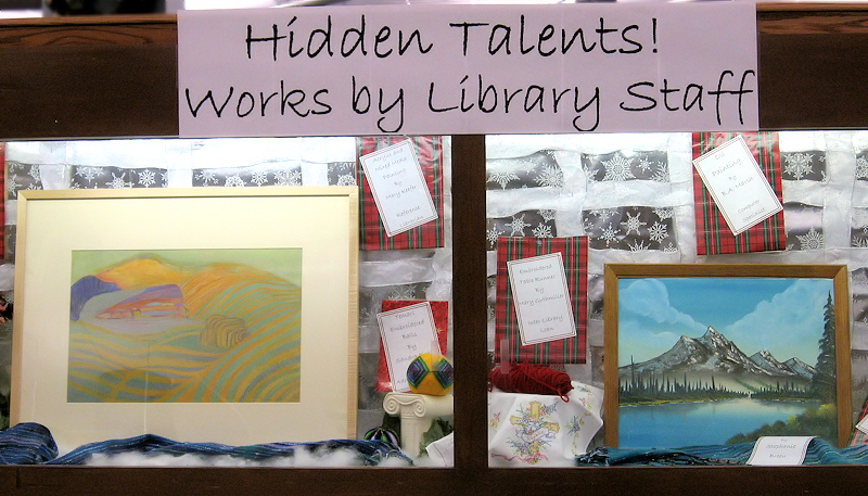 Library staff have hidden talents