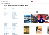 Contemporary World Music screenshot