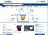 ICPSR: Political & Social Science Research screenshot